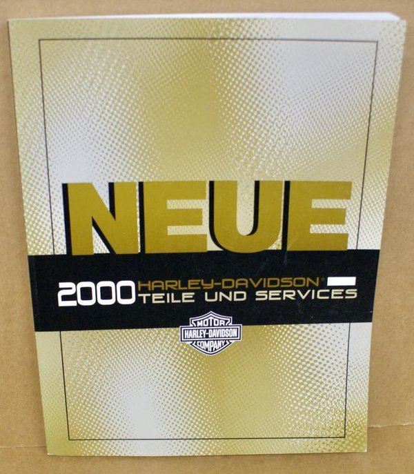 Harley original neue Teile Services FLT Dyna XL Softail Update Service manual 00