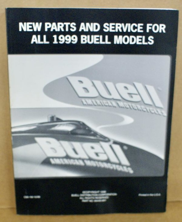 Buell original new Parts & Service manual neue Teile und Service alle Modelle 99