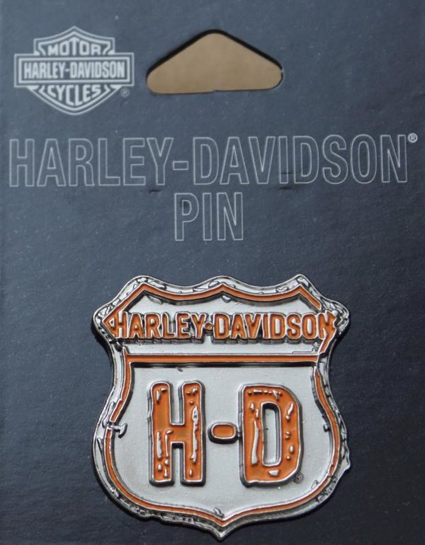 Harley original Pin Anstecker Anstecknadel Shield