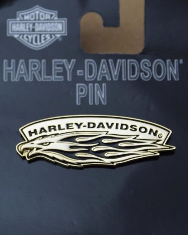 Harley original Pin Anstecker Anstecknadel Eagle