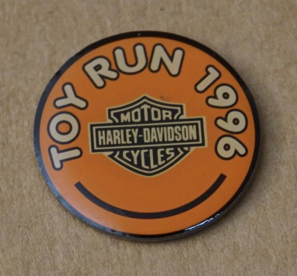 Harley Pin Anstecker Anstecknadel Toy Run 1996