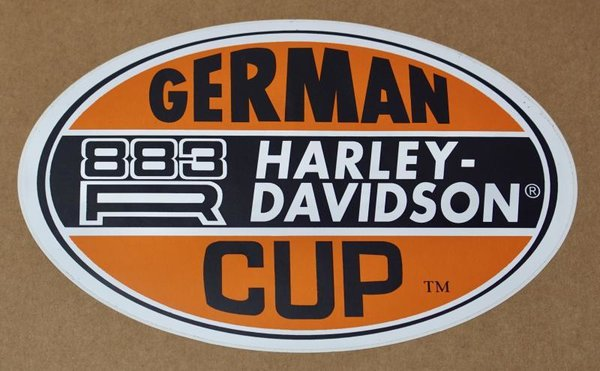 Harley original Aufkleber Decal  Sticker German Sportster Cup 883R