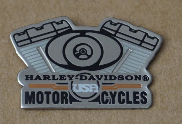 Harley original  Pin Anstecker Anstecknadel  Motor Engine