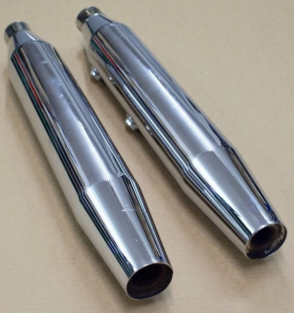 Harley original Schalldämpfer Exhaust Muffler Softail