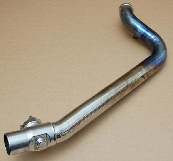Harley original Auspuff Krümmer Exhaust Pipe Rear Softail Rocker FXCW FXCWC