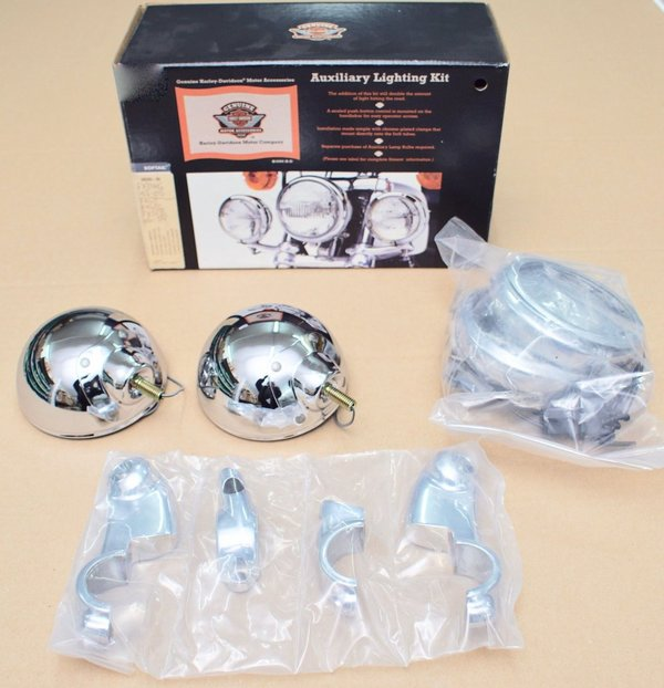 Harley original Zusatzscheinwerfer Set Passing Lamp Auxiliary Lighting Kit